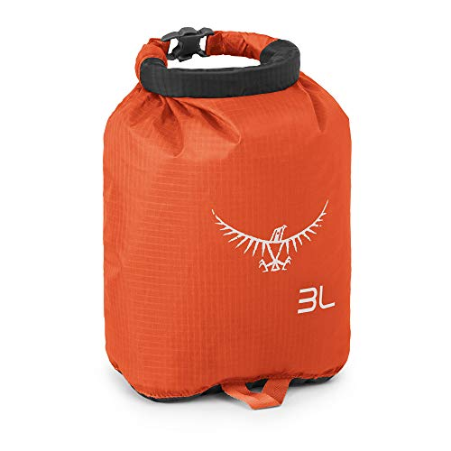 Osprey Hydraulics 3 L Water Hydration Reservoir - Blue & Ultralight DrySack 3 - Poppy Orange