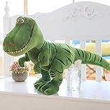 WLYY Simulación Dinosaurio Tyrannosaurus Peluche Muñeca 40cm Verde Tyrannosaurus Rex