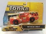 Tonka Real Tough Diecast Rescue Rigs (Mini Fire Truck)