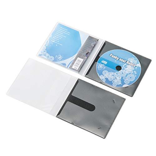 エレコム ディスクケース 省スペース CD DVD 1枚収納 30枚パック ブラック CCD-DPC30BK