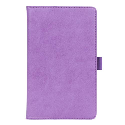 ISIN Premium PU-Leder Schutzhülle Tasche Stand Cover für Huawei Mediapad M6 8 8.4 2019 VRD-AL00 VRD-W09 VRD-AL09(Nicht für M5 8.4, M3 8.4,M6 10.8) 8,4-Zoll-Android-Tablet-PC(Violett)