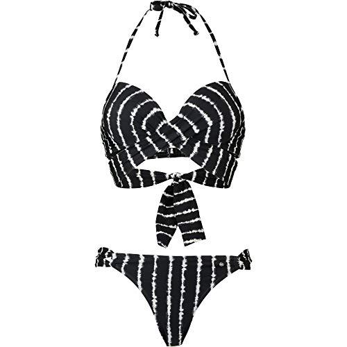 s.Oliver Damen Bikini Set schwarz 38 / A