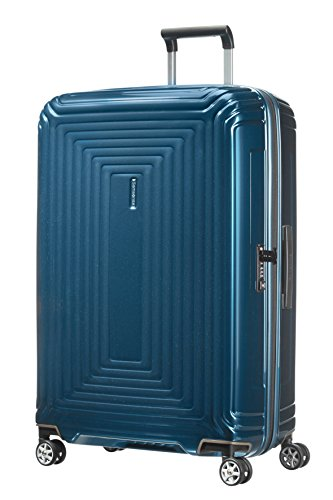 Samsonite Neopulse - Spinner L Koffer, 75 cm, 94 L, blau (Metallic Blue)