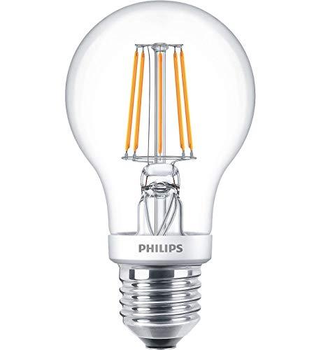 Phil Classic LEDbulb Filament 4,5W E27 | 2200-2700K A60 klar Dimtone