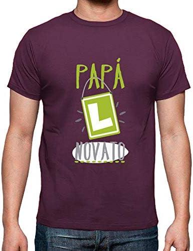 Camiseta Pap Novato Manga para Hombre