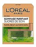 L'Oréal Paris – Gommage Purifiant Pour Le Visage et Les Lèvres – Sucres de Soin – 50 ml – Lot de 2