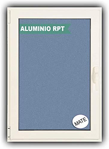 Ventanastock Ventana Aluminio RPT 45 Practicable Oscilobatiente Izquierda 500×600 1hoja cristal carglass (climalit mate)