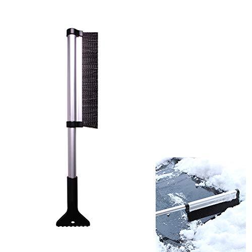 Ndier - Frusta telescopica Regolabile in Lega di Alluminio, per Auto, Parabrezza, Giardinaggio