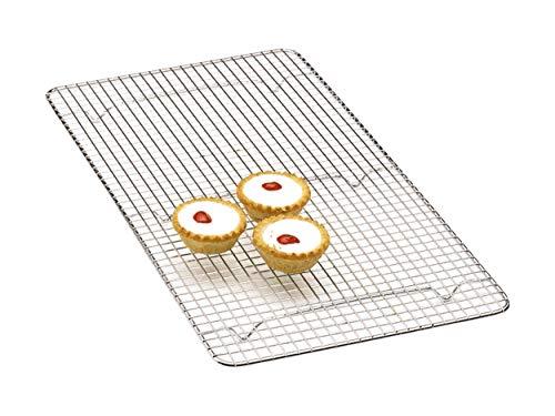 Kitchen Craft KCCAKEOB - Bandeja de cromo para enfriar repostería (46 x 25...