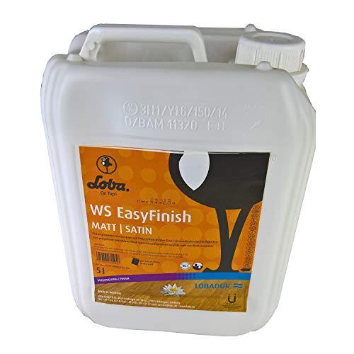 LOBADUR® WS EasyFinish, Kork und Parkettlack auf wasserbasis, für starke Beanspruchung (5 Liter, Matt)