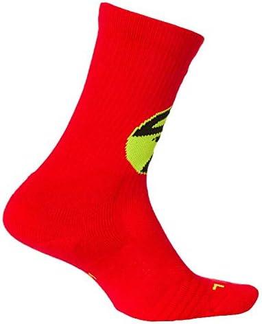 Nike NBA Atlanta Hawks Elite Crew Basketball Socks, Red, Size X-Large