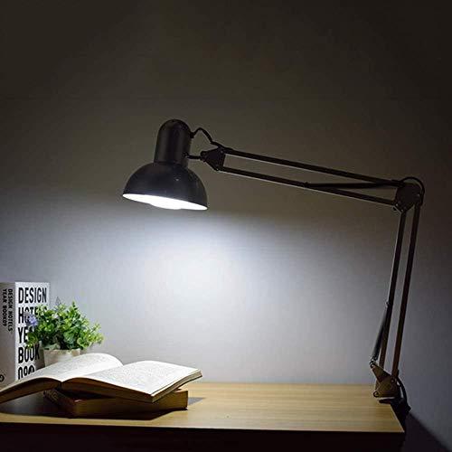 Luces de Lectura de Pared Ajustables Luz de Pared de Metal Negro Industrial con Interruptor 1.6 m Cable y Enchufe Lámpara de luz de sujeción Lámpara de Pared Vintage Well