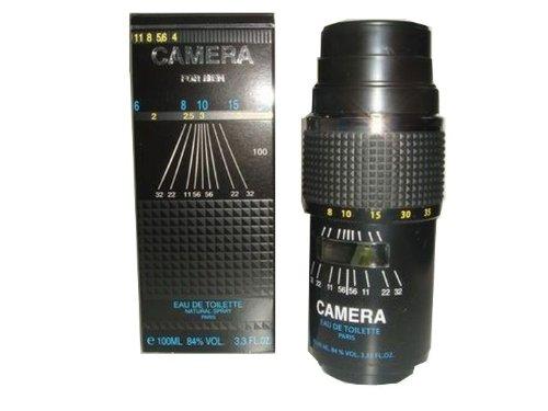 Parfum de France Camera Noir HommeMen, Eau de Toilette, vaporisateurSpray, 100 ml