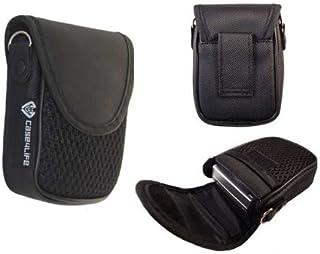 Case4Life Schwarz gepolstert Kameratasche Beutel für Canon Ixus 1**, 2**, 5** IS HS Series inc 145, 150, 155, 160, 165, 175, 180, 240 HS, 125 HS