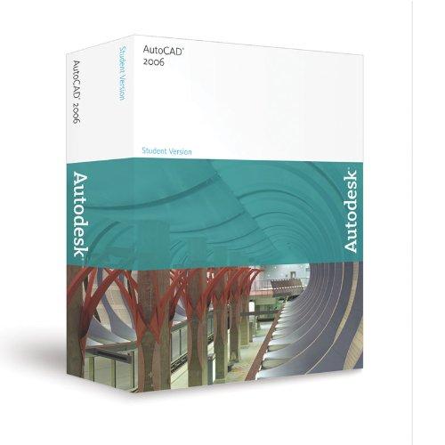 Autodesk AutoCAD 2006 Academic Career License Student Version - Perpetual