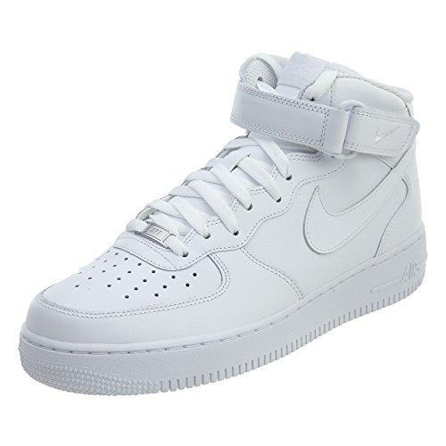 Nike Air Force 1 Mid '07, Sneaker Uomo, White 111, 48.5 EU