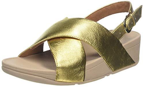 FitFlop Lulu Sandal - Leather, Sandalias de Punta Descubierta para Mujer