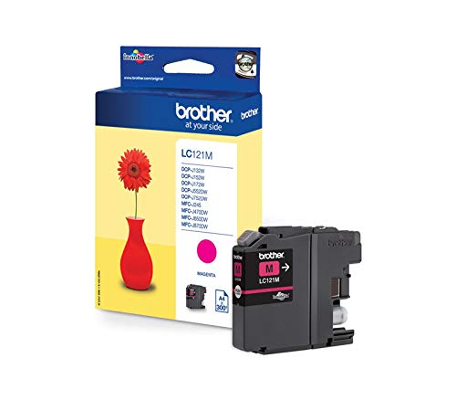 Ink cartridge Original Brother 1x Yellow LC-121Y for Brother DCP-J 132 W