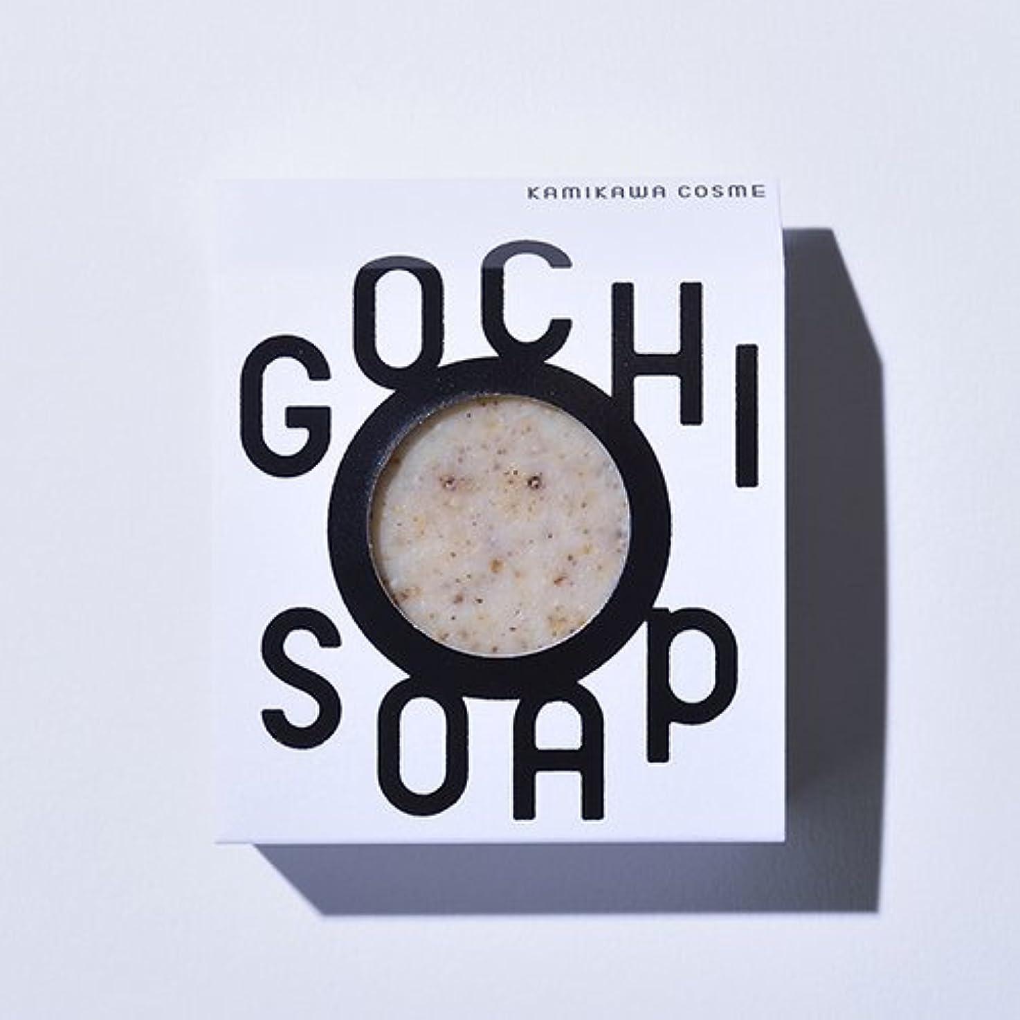 変化する地震鋭くGOCHI SOAP ゴチソープ 上森米穀店の焙煎黒米ソープ