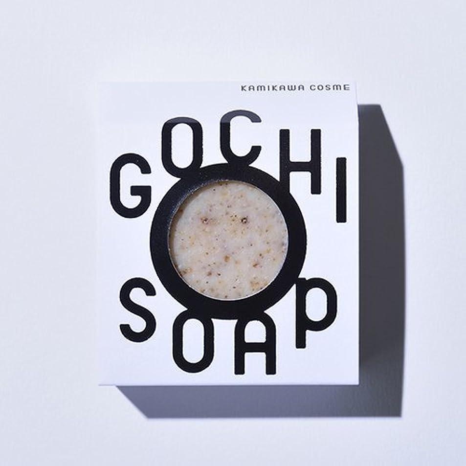 雑種早める君主GOCHI SOAP ゴチソープ 上森米穀店の焙煎黒米ソープ