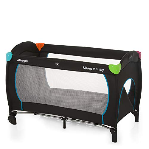 Hauck Sleep N Play Go Plus Lettino da Viaggio, 120 x 60...