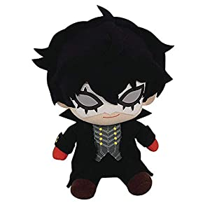 "Great Eastern Entertainment Persona 5- Phantom Thief Ver. Sitting Pose Plush 6"" H, Black, One Size - 41ApArzAXrL - Great Eastern Entertainment Persona 5- Phantom Thief Ver. Sitting Pose Plush 6″ H, Black, One Size"