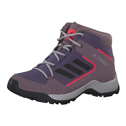 adidas Terrex Hyperhiker K, Chaussures de Sport Unisexe-Enfant, Multicolor Purtec/Negbás/Rojsho, 35 EU