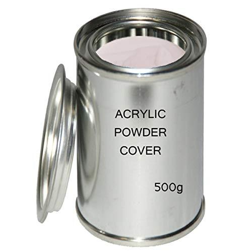 Acryl Pulver Cover 500 g - Acrylpulver Camouflage Acrylic Nails - Nail Puder für Acrylnägel...