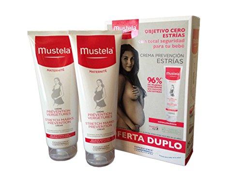 Mustela Creme gegen Schwangerschaftsstreifen, doppelte Wirkung, Sparpack, 2x250ml