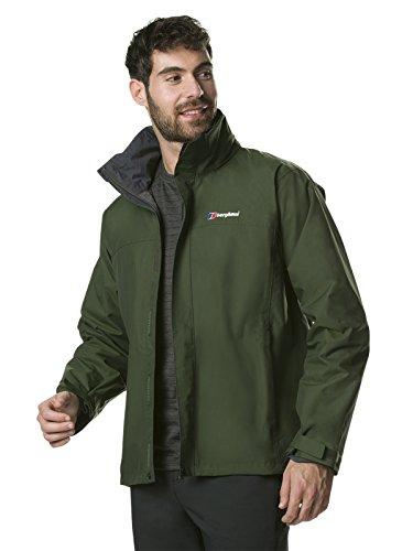 Berghaus Men's Standard Shell Jacket, S Green
