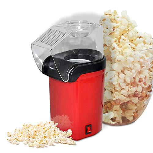 Sale!! Goliraya Electric Corn Popcorn Maker Machine 1200W Fast Hot Air Mini Popcorn Popper with Top ...