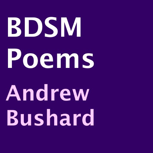 BDSM Poems audiobook cover art