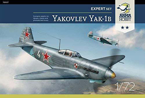 アルマホビー 1/72 ソ連空軍 ヤコヴレフ Yak-1b エキスパートセット プラモデル ADL70027