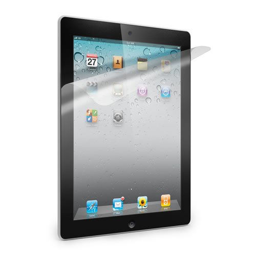 2 x iPad 2 Screen Protector Clear Film Beschermt Scherm tegen Stofkrassen 16 GB 32 GB 64 GB - 2e generatie iPad - KING OF FLASH