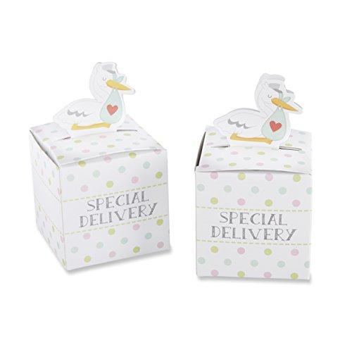 Kate Aspen Set von 24Special Delivery Storch Favor Box