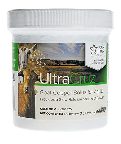 UltraCruz - sc-363825 Goat Copper Bolus Supplement for Adult Goats, 100 Count X 4 Grams