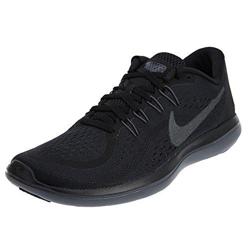 Nike Men's Flex 2017 Rn Running Shoe Black/Metallic Hematite Size 11 US