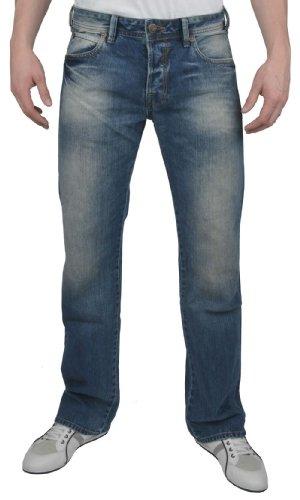 LTB Herren Boot-Cut Jeans, Powder Aged 1241, L34W / 32L