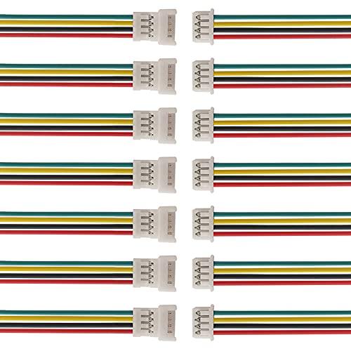 10 Parejas de Cable de 15 cm con Micro-Conector...