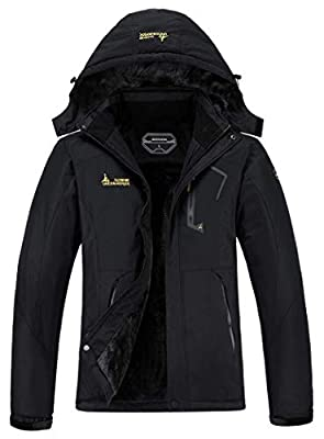 MOERDENG Women's Waterproof Ski Jacket Warm Winter Snow Coat Mountain Windbreaker Hooded Raincoat Snowboarding Jackets