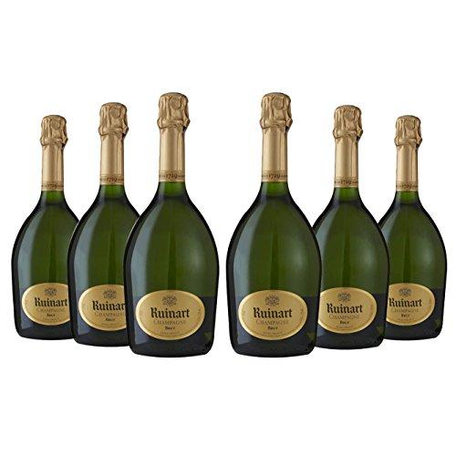 Champagne - Lot de 6 Ruinart Brut - Livraison offerte - 6x75cl