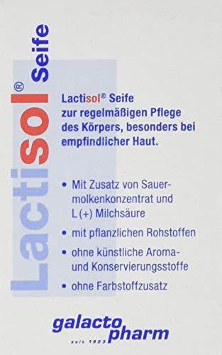 Lactisol Seife, 100 g - für trockene und rissige Haut