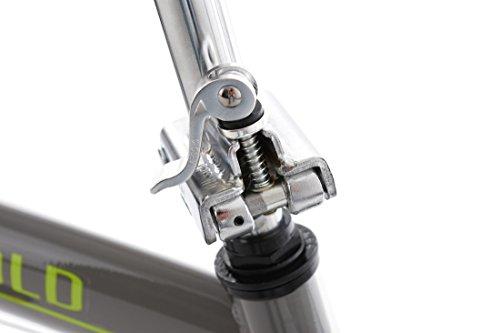 KS Cycling Erwachsene Faltrad 20'' Cityfold grau RH 27 cm Fahrrad, 20 - 5