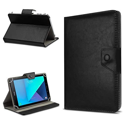 UC-Express Samsung Galaxy Tab Active 2 Tasche Tablet Hülle Schutz Hülle Cover Schutzhülle, Farbe:Schwarz