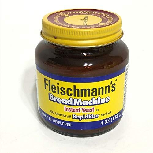 Fleischmanns Instant Yeast Bread Machine 4 oz RapidRise Exp 2021 or 2022