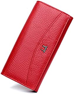 wowgadgets 1Pc Genuine Leather Wallet for Women,