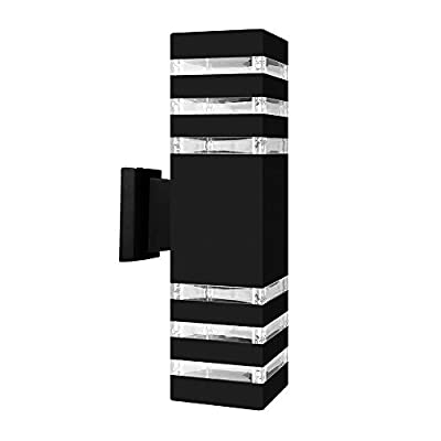 Up Down Wall Lighting ONEVER Waterproof Led Wall Sconce Cylinder COB 10W LED Wall Sconce Lamp for Indoor Outdoor Use