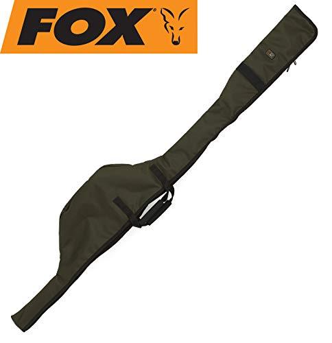 Fox R-Series 10ft Single Rod Sleeve 165x24cm - Rutenfutteral für Karpfenrute, Angeltasche für Angelrute, Rutentasche, Tackletasche