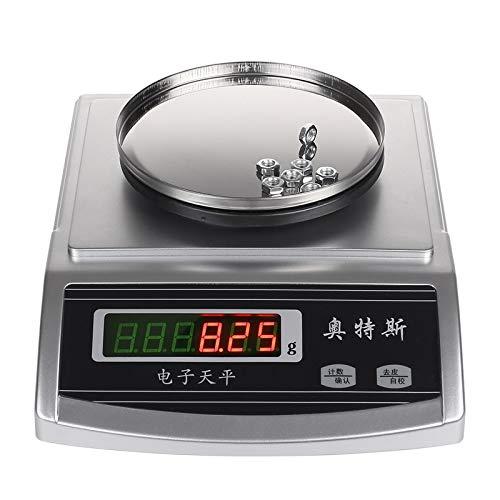 ZCY Digitale elektronische weegschaal, zeer nauwkeurig, 0,01 g, elektronisch goedkoop koken op de oven, met Tara ES0919-functie