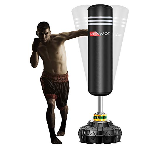 The interior of the PEXMOR Free Standing Punching Bag